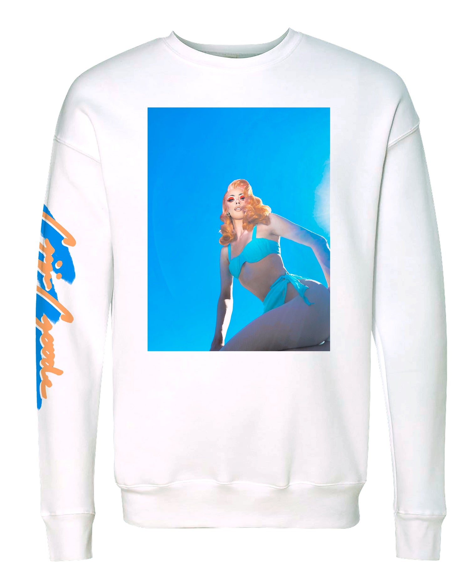 'True Blue' Gigi Sweatshirt - regular price $60/now $48