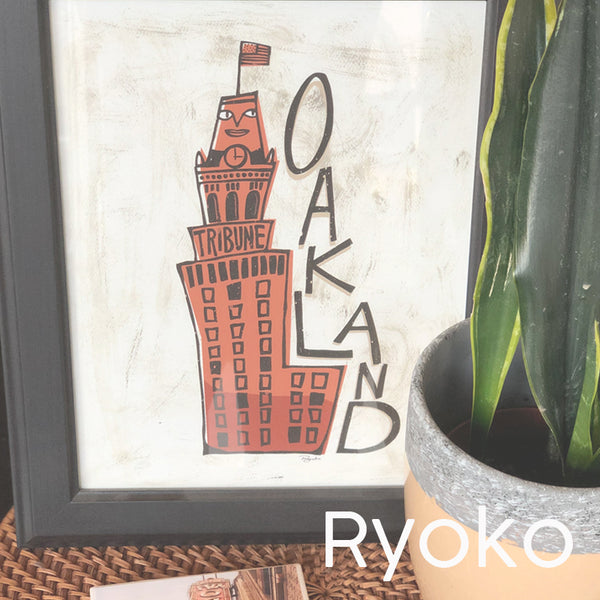 Ryoko art Makers Loft boutique oakland gift shop