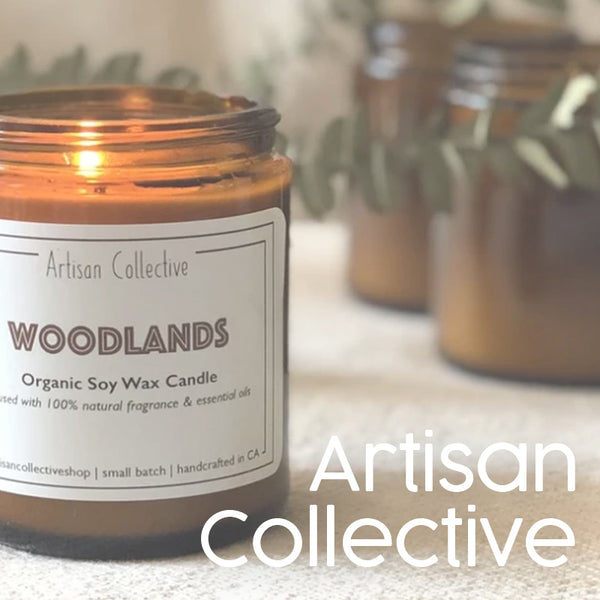 artisan collective soy candle makers loft boutique workshops oakland