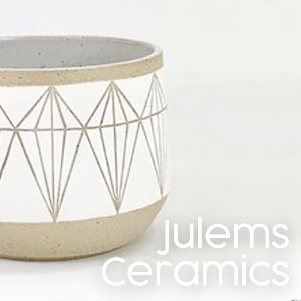 Julems Ceramics at maker's Loft boutique gift shop oakland