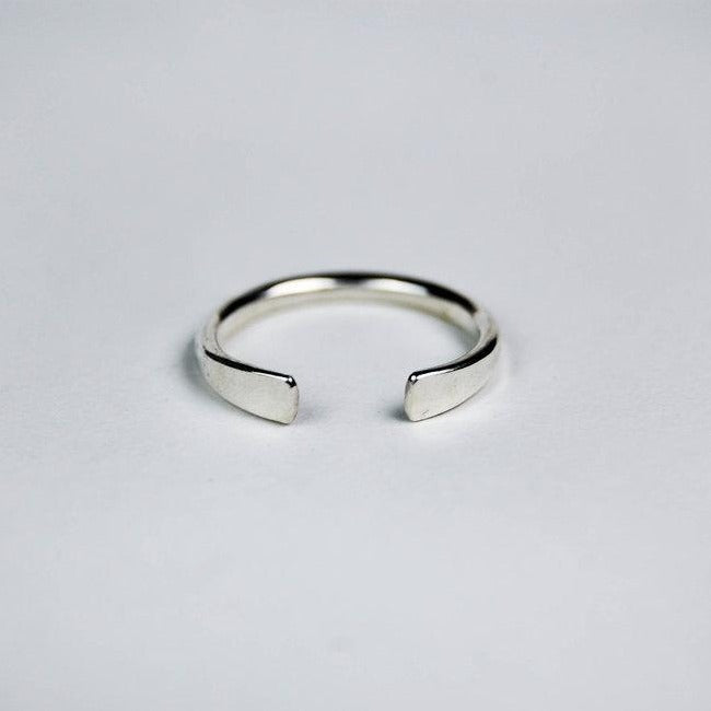 Open Ring, silver