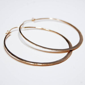 Hammer Hoops, gold