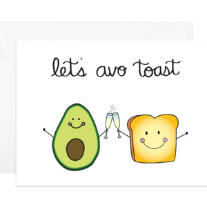 Card- Let's Avo Toast