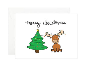 """Merry Christmoose"" Card"