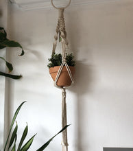 Load image into Gallery viewer, Macrame Plant Hanger with Pot
