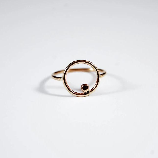 Orbit Ring, Gold