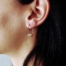 Load image into Gallery viewer, Pendulum Small Earrings, Gold