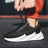 Ultra Lite Men's Black Mesh Trendy Comfy Sneakers