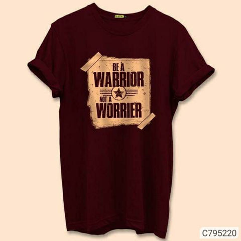 Be a warrior COTTON SLIM FIT T-SHIRT