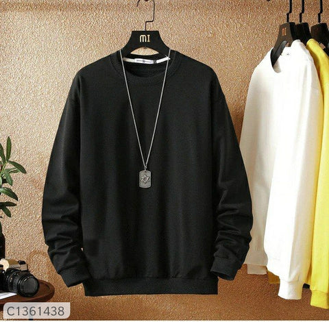Be Look Cotton Slim Fit Sweat Shirt