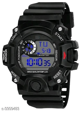 DIGITAL MEN'S WATCH