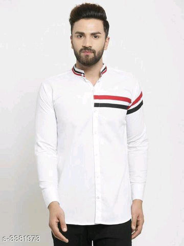 ELEGANT STYLISH MEN'S WHITE SHIRT