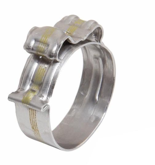 Metal Hose Clip - with Spring - Ezyclik-M+ - 15.5-17.0mm -304SS