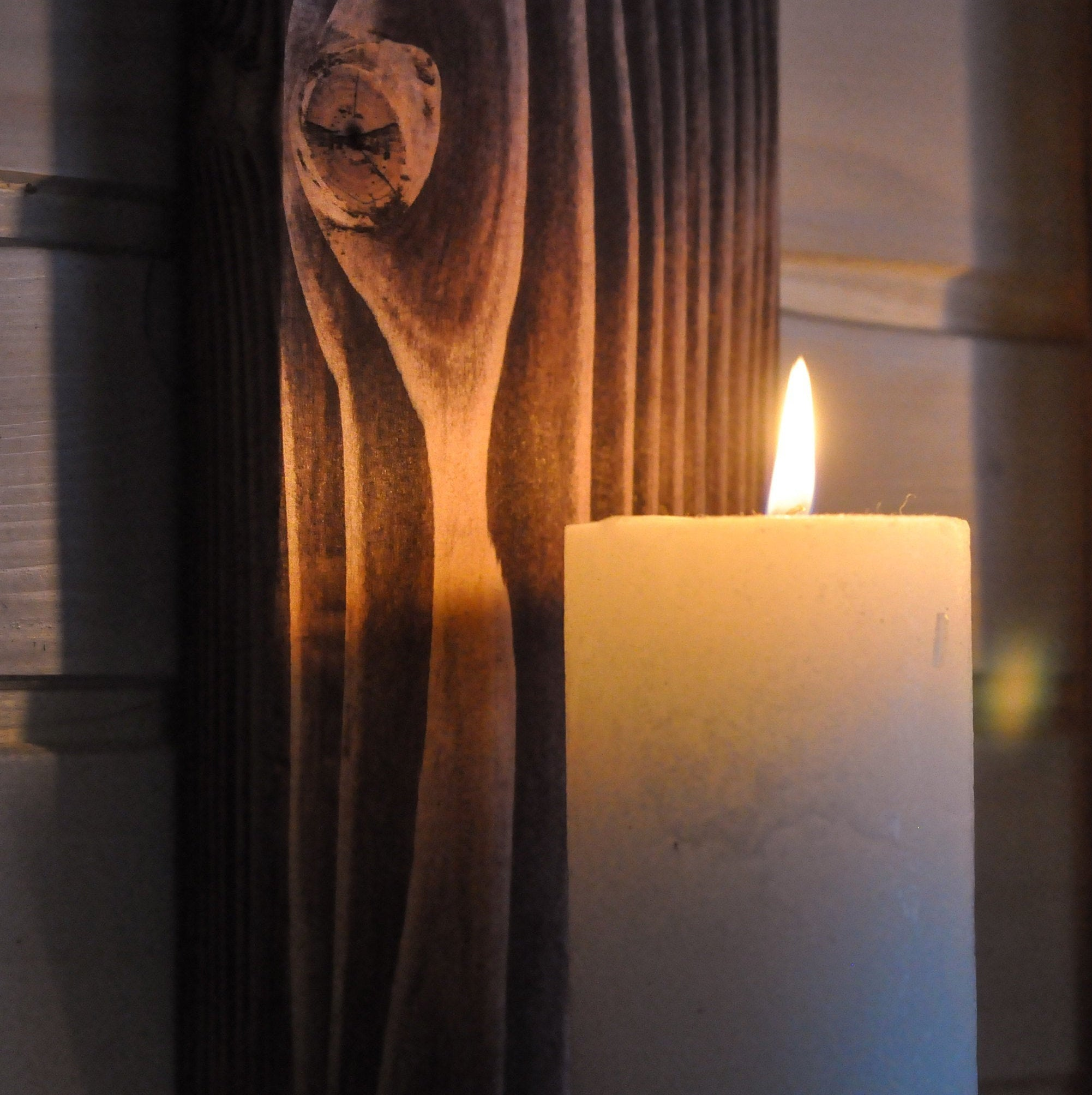 Large Oiled Wall-Mounted Candle Sconces - LocalBeavers
