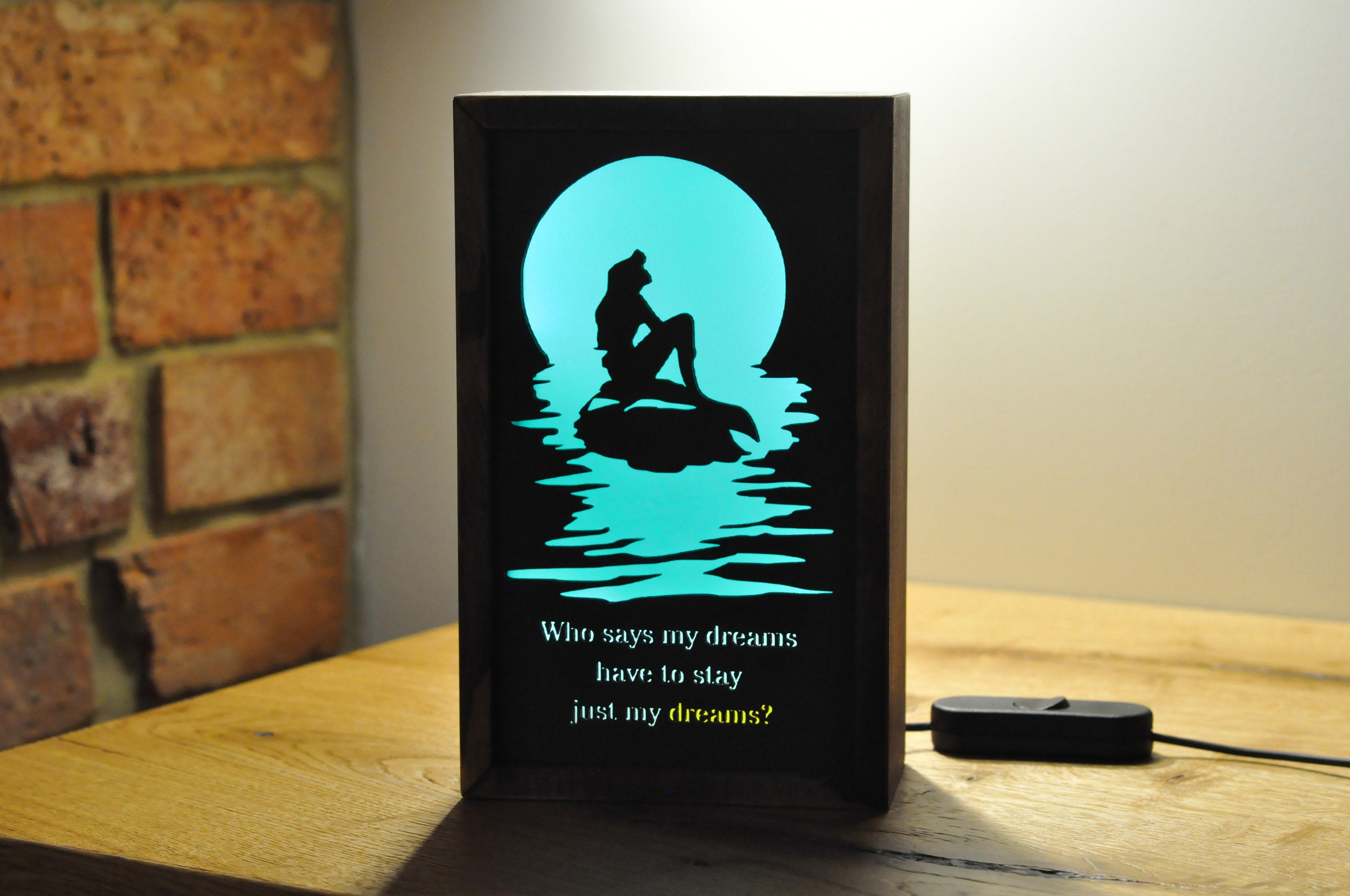 Mermaid Night Light - LocalBeavers