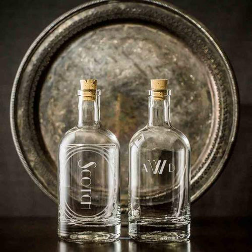 Custom Monogrammed Spirit Decanter