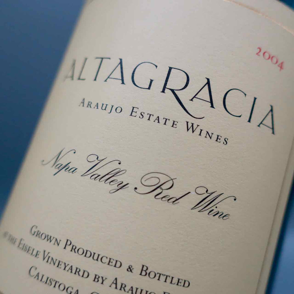 "Araujo Estate ""Altagracia"" Red Wine 2004"