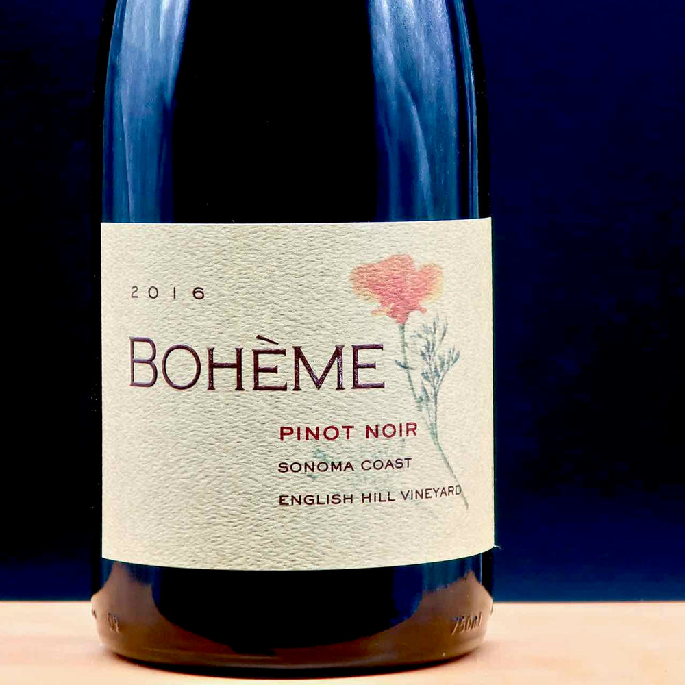 "Bohème ""English Hill Vineyard"" Pinot Noir 2016"