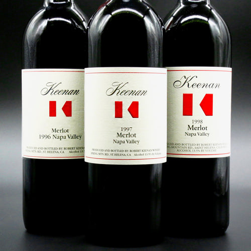 Keenan Winery, Napa Valley Merlot Vertical