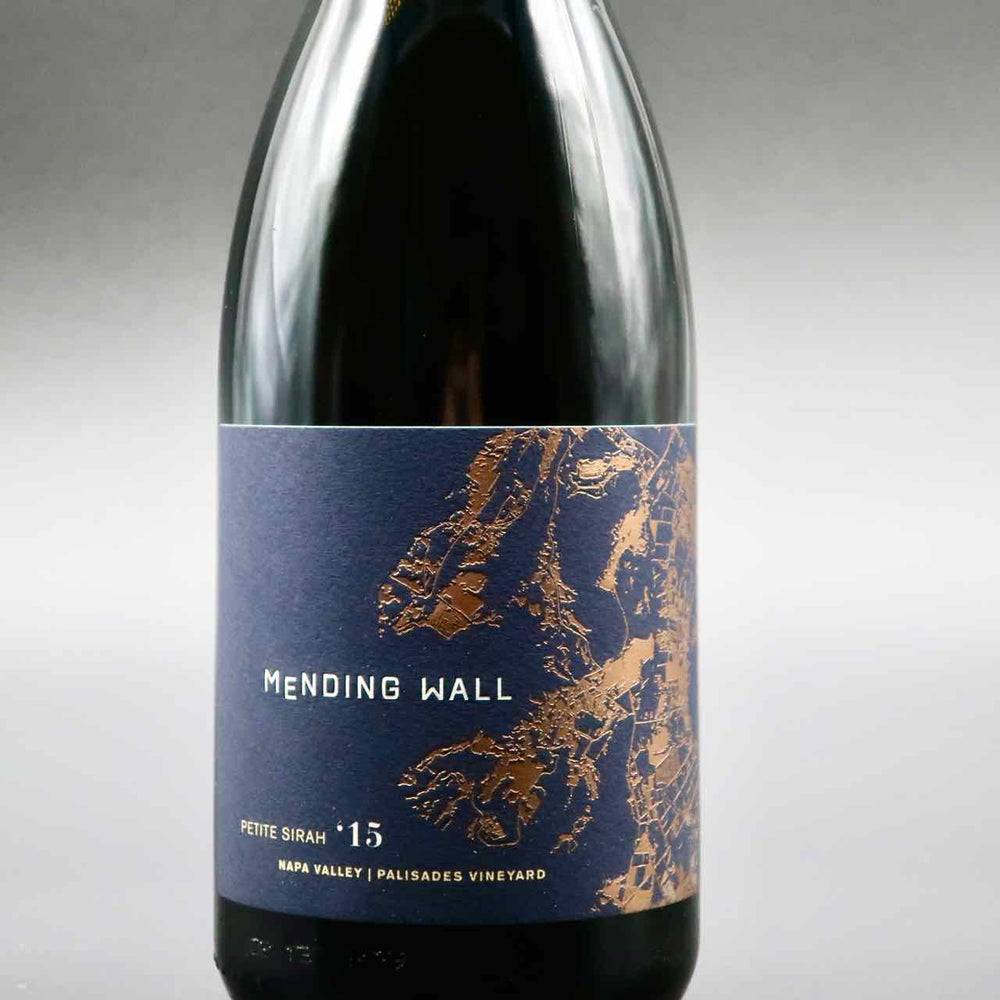 "Mending Wall ""Palisades Vineyard"" Petite Sirah 2015"