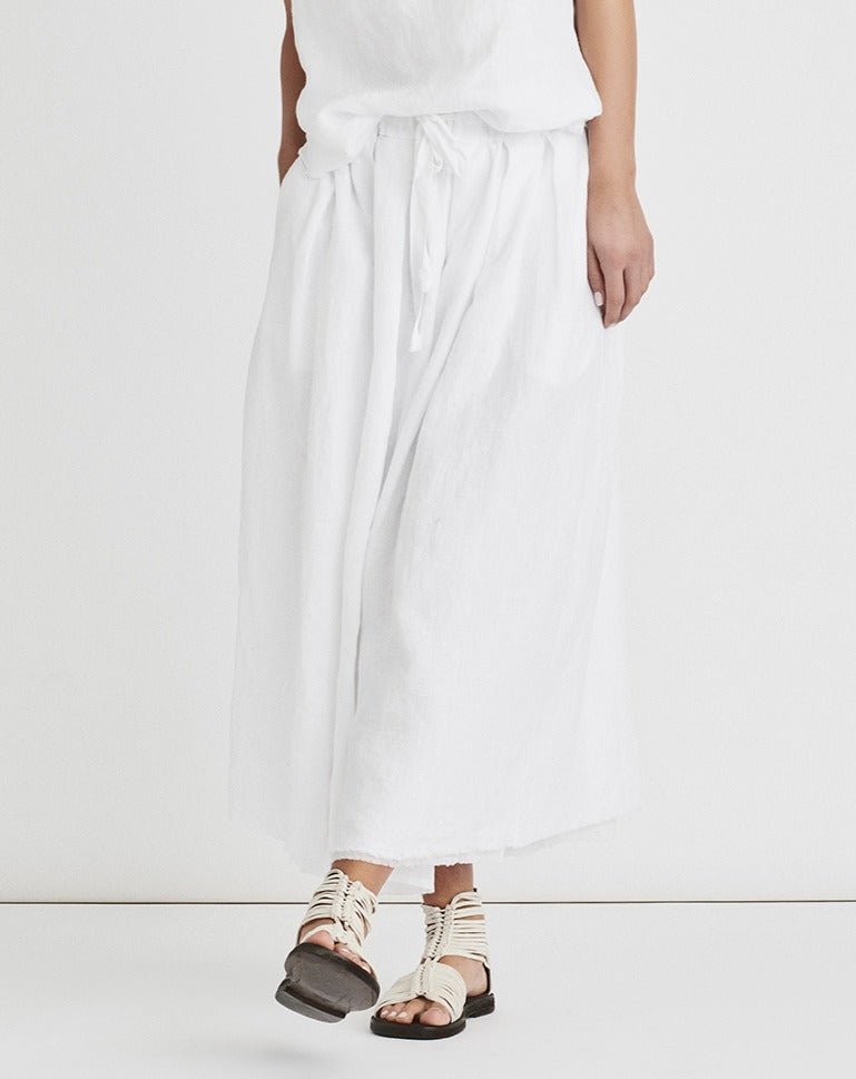 Light Linen Skirt