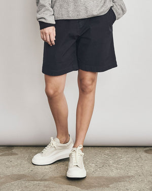 Cotton Stretch Shorts