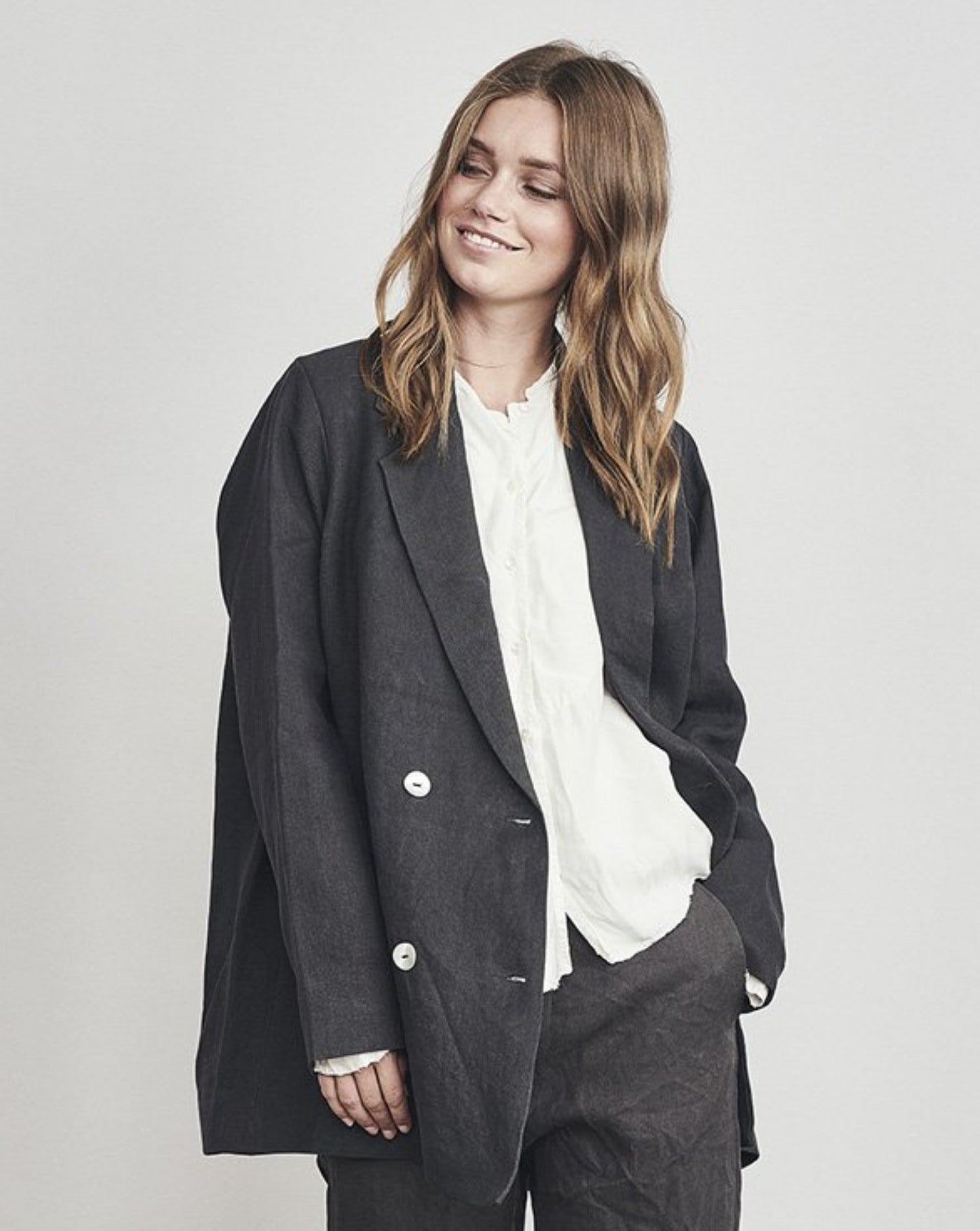 Hemp Oversized Blazer
