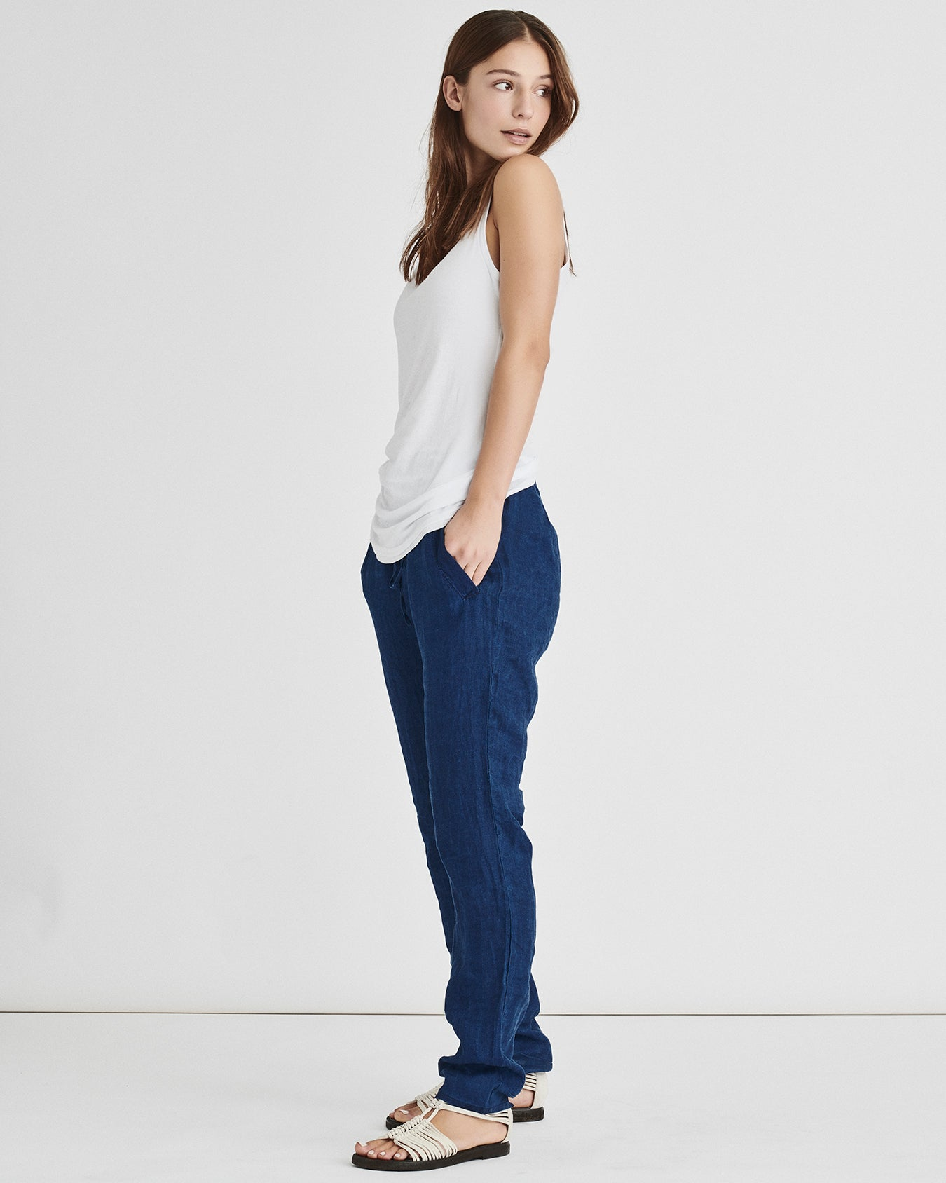 Light Linen Pants