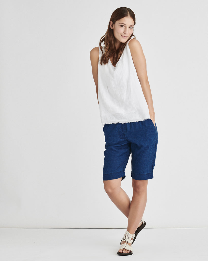 Light Linen Shorts