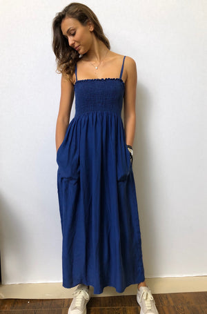 Silk Long Dress