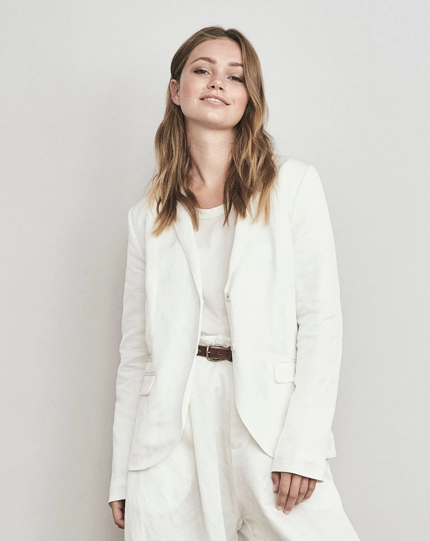 Linen Cotton Blazer