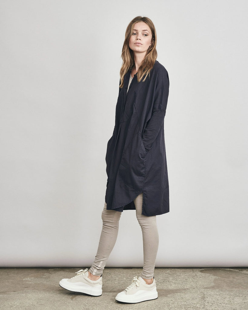 Stretch Cotton Tunic