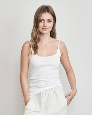 Cotton Strap Top