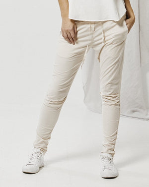 Tapered Cotton Pant