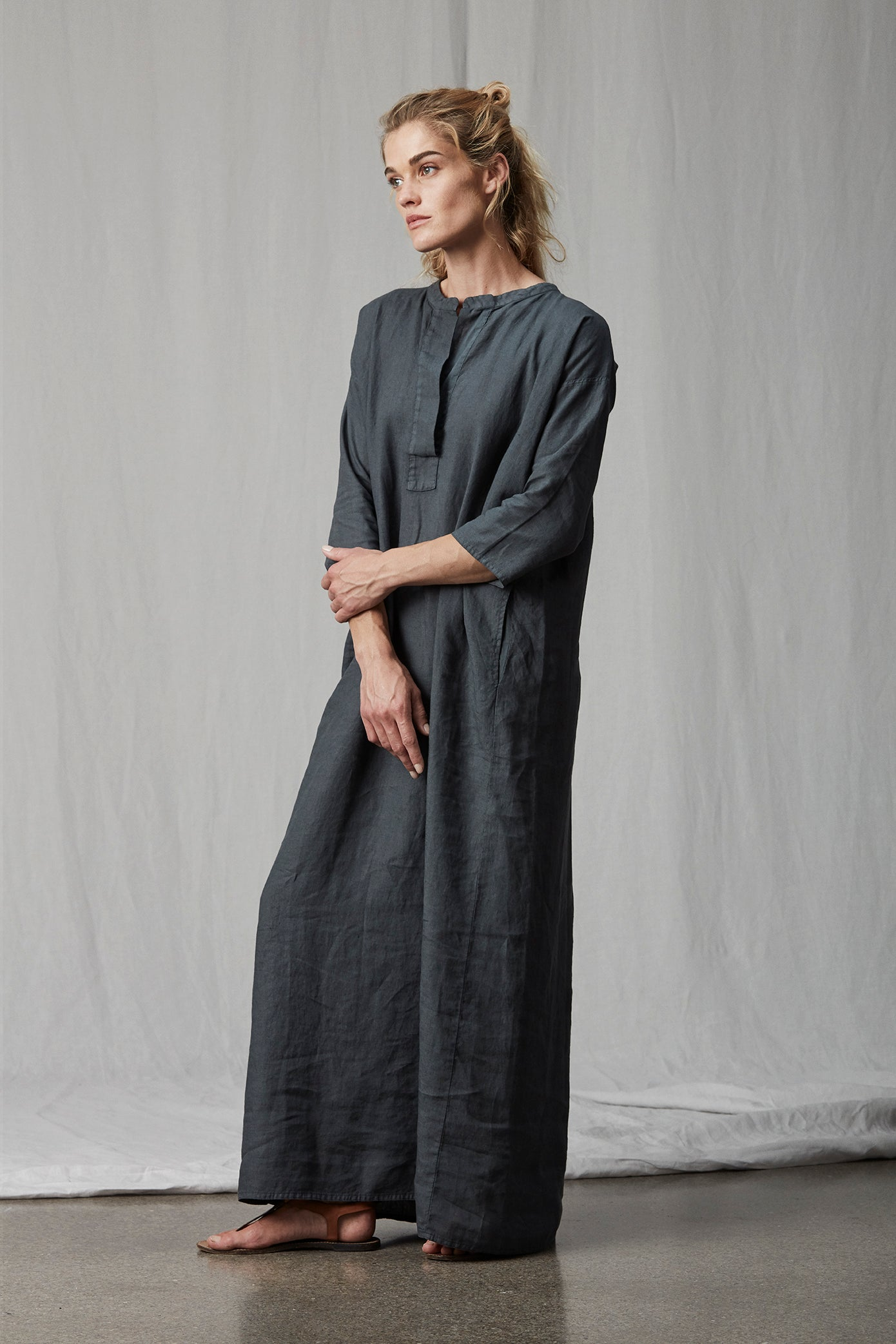 X 120 - Long Djellaba Dress