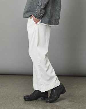 Cotton Wide Pant