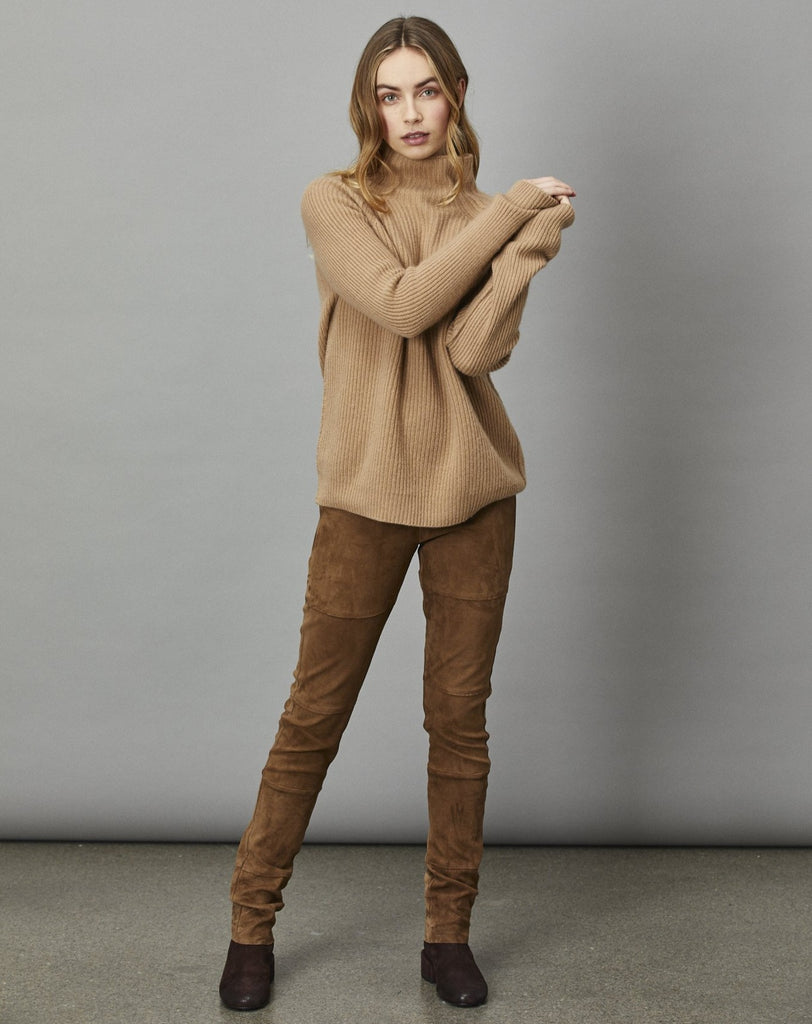 Cashmere Mock Neck