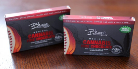 Bhang Fire Chocolate
