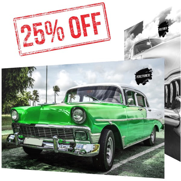 """Get 25% Off"" Any Car Art Print!"
