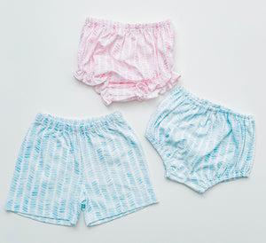 Girl Knit Bloomers - Playful Pink