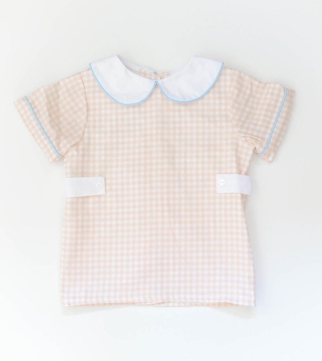Harmon Shirt Short Sleeve: Sample Size 4T