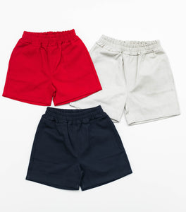Twill Shorts - Red