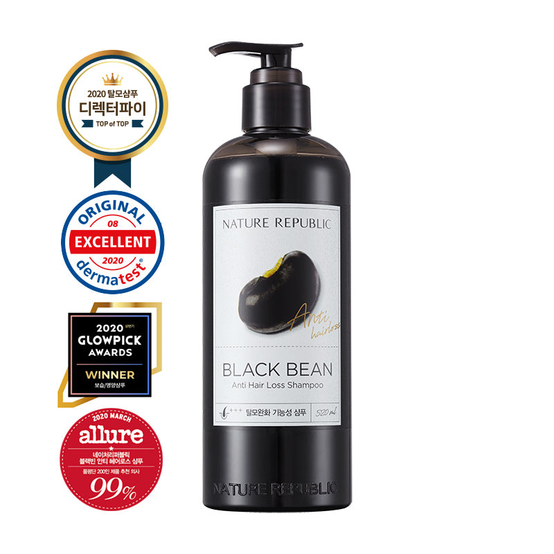 Black Bean Anti Hair Loss Shampoo (Large)