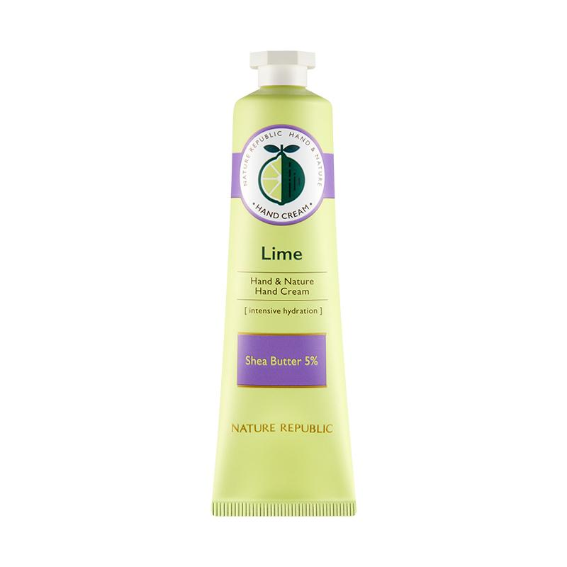 Hand & Nature Hand Cream Lime