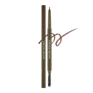 Micro Slim Brow Pencil 02 Redbean Brown