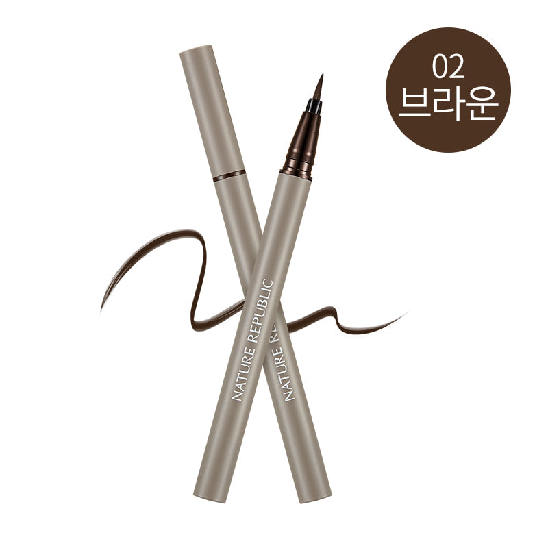 Botanical Hyper Liner 02 Brown