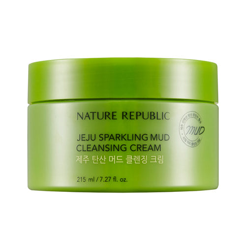 Jeju Sparkling Mud Cleansing Cream