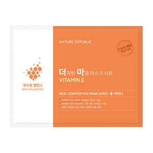 Real Comforting Mask Sheet Vitamin E