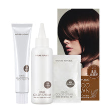 Load image into Gallery viewer, Hair & Nature Hair Color Cream 7C Choco Brown