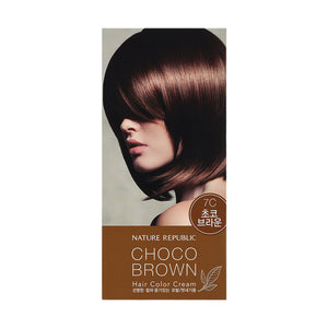 Hair & Nature Hair Color Cream 7C Choco Brown